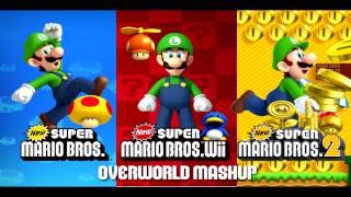 ☆ ✶ New Super Mario Bros. 2 Music - Overworld Mashup✶ ☆