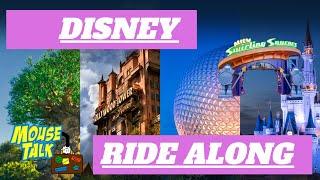 Disney Ride Along    Alien Swirling Saucers