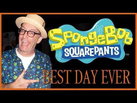 """Tom Kenny Sings """"Best Day Ever"""" as SpongeBob Squarepants"""