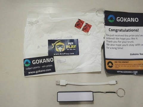 #UNBOXING Power Bank From Gokano!😉