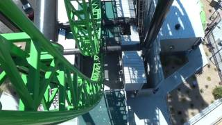 Green Lantern First Flight Roller Coaster (Complete HD Experience) Six Flag Magic Mountain