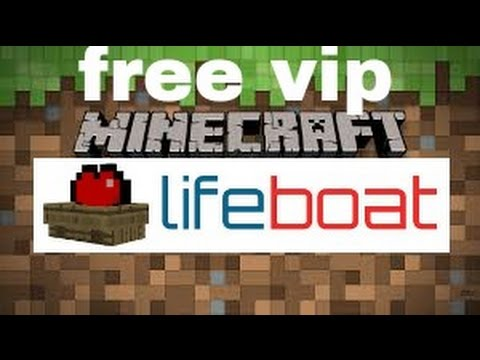 HOW TO GAT FREE VIP PLUS ON LIFEBOAT SERVER NO HACK OR ACCOUNT ...