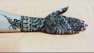 Best Full hand bridal Mehendi design in steps - henna design for Diwali,Ramjan eid mehendi