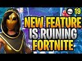 The NEW Feature That Is RUINING Fortnite... (Fortnite New Update 9.10 - Season 9)