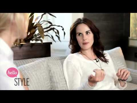THE LOOK  Downton Abbey's Michelle Dockery Talks Fashion 360p