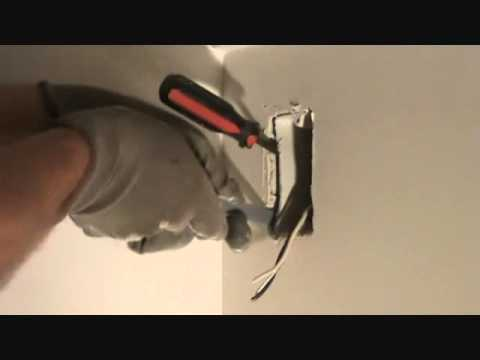 How To Remove An Existing Electrical Duplex Outlet Box