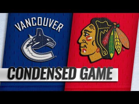 03/18/19 Condensed Game: Canucks @ Blackhawks
