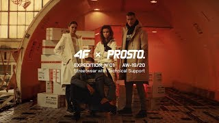 4F x Prosto  EXPEDITION N°01