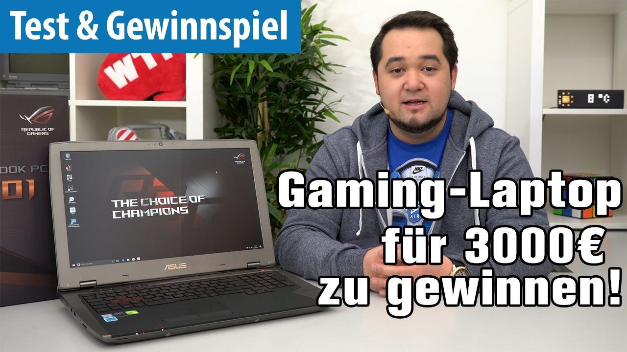 Gewinnspiel Gaming Notebook