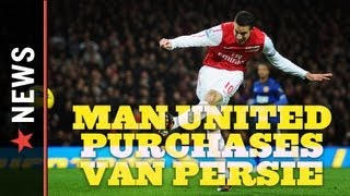 EPL News: Manchester United Agrees To Purchase Arsenal Captain Robin van Persie