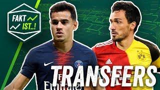 Hummels zum BVB! Kramaric zum AC Mailand, Koulibaly zu Manchester City? Fakt ist..! Transfer News