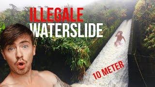 HAWAÏ'S ILLEGALE WATER SLIDE BEZOEKEN!