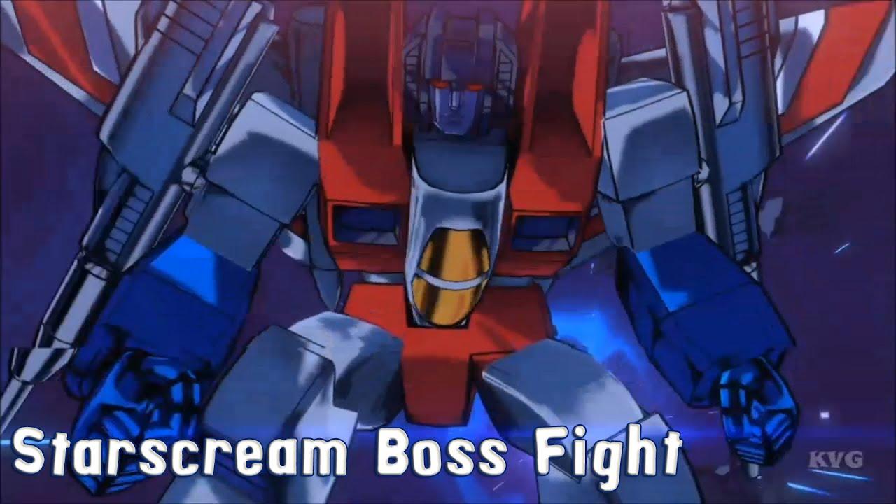 Transformers Devastation: STARSCREAM (All voice clips