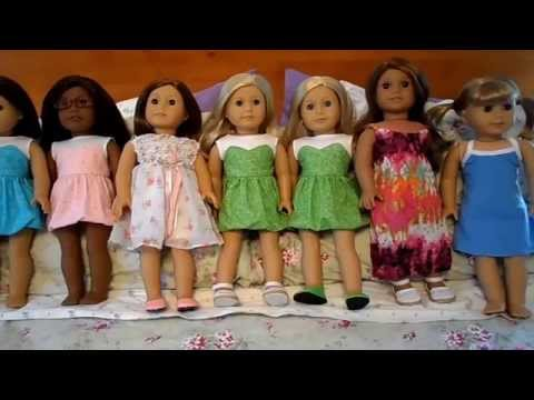 Handmade Doll Clothes For American Girl Dolls!