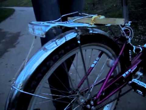видео: Бесконтактный велогенератор. Динамка на велосипед.