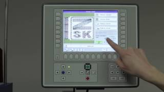 Chapter 13 - Start an Embroidery Design on the ZSK Sprint Embroidery Machine