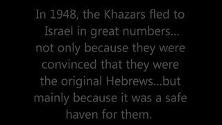 True Hebrew Israelites vs Khazars in Israel