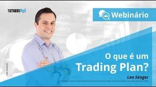Webinário - O que é um Trading Plan?