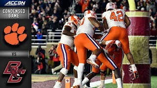 Clemson vs. Boston College Condensed Game | 2018 ACC Football