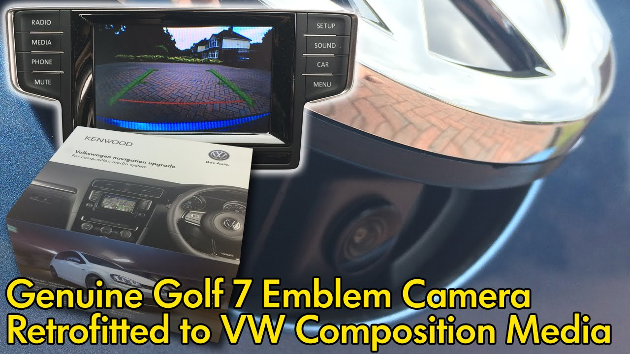 vw golf 7 reversing camera retrofit with kenwood garmin system youtube. Black Bedroom Furniture Sets. Home Design Ideas