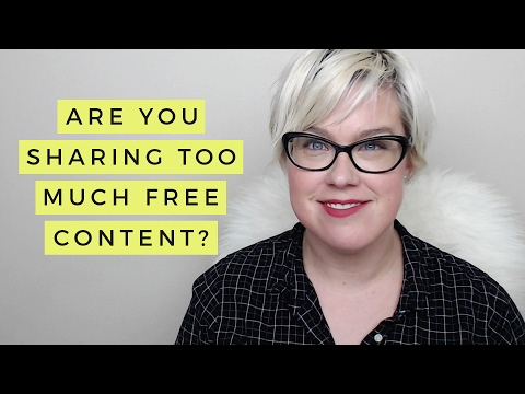 Are You Sharing Too Much Free Content In Your Facebook Group?