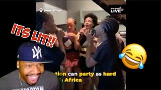 No Nation Can Party like South Africa | TFLA Reaction