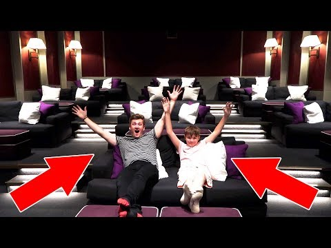 OUR OWN PRIVATE CINEMA!?