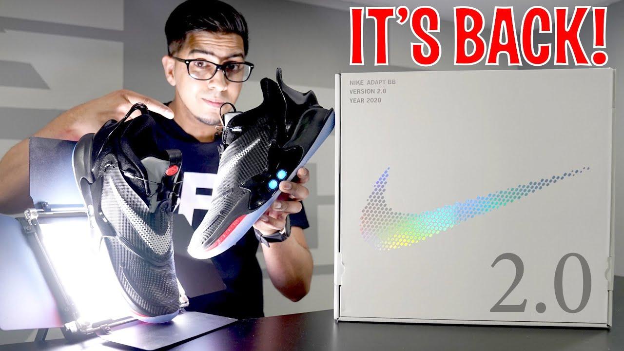 UNBOXING \u0026 REVEIW - Nike Adapt BB 2.0