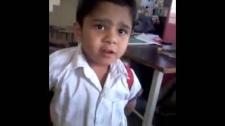 INDIAN CHILD FUNNY VIDEO