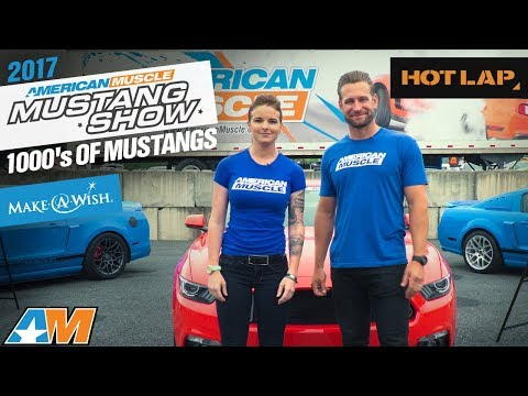 2017 AmericanMuscle Mustang Car Show – World's Largest One Day Mustang Show AM2017