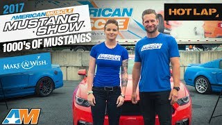 2017 AmericanMuscle Mustang Car Show – World's Largest One Day Mustang Show