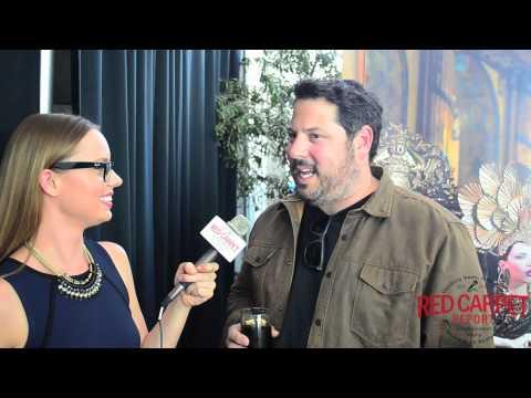 Greg Grunberg talks StarWars at Doris Bergman's 7th Oscar Style Lounge BergmanOscars GiftSuite