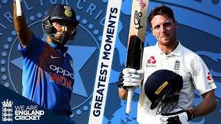 Rohit's Sensational 100, Buttler Maiden Century & More! | England v India Greatest Moments - Part 2