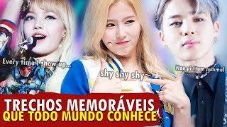 MÚSICAS DE K-POP COM TRECHOS INESQUECÍVEIS