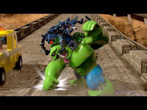Hulk 2099 & Venom 2099 Free Roam Gameplay - LEGO Marvel Super Heroes 2