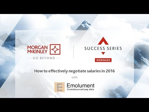[Webinar] How to negotiate salaries effectively | #SuccessSeries