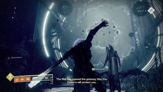 DESTINY 2 THE SHATTERED THRONE (1st Attempt)