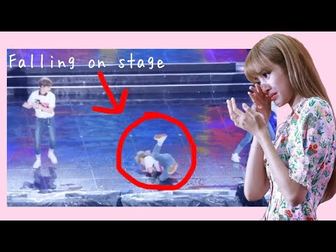 KPOP IDOLS FALLING ON STAGE (BTS, EXO, ITZY, TWICE & MORE)