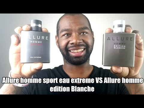 Chanel Allure Homme Sport Eau Extreme Vs Chanel Allure Homme Edition