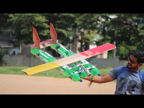 how-to-make-a-aeroplane---bottle-airplane
