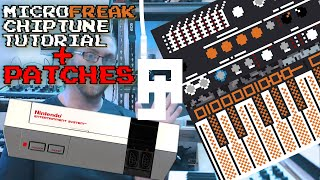 Can It Chiptune? Microfreak NES Tutorial and Patches