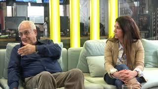 Ο υποψήφιος δήμαρχος Αγ. Παρασκευής Γ. Μυλωνάκης μιλάει με δημότες