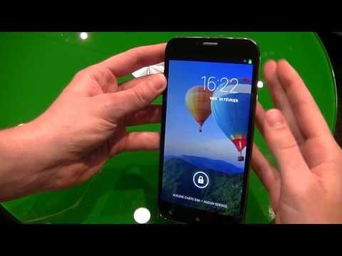 Archos 64 Xenon - présentation au #MWC14 | par Top-For-Phone.fr