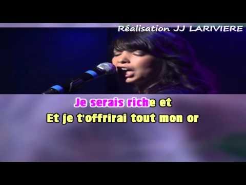 INDILA   LOVE STORY I G C JJ Karaoké - Paroles