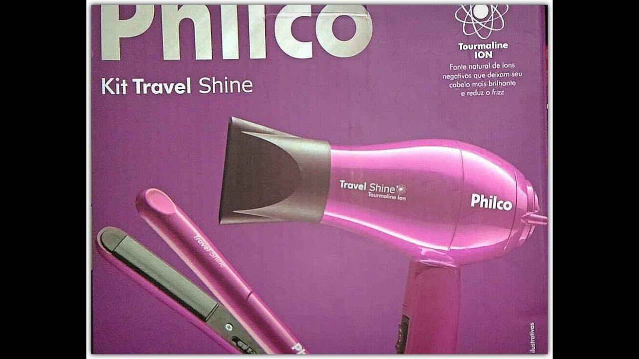 e030d9c2f Testando o kit Travel Shine da Philco Bivolt - YouTube