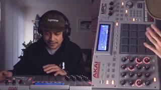 Freddie Joachim - Beats using MPC Renaissance