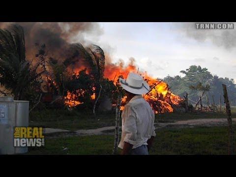 Honduran Police Burn Community to the Ground