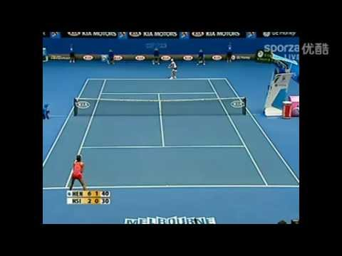 2008 Australian Open  Hsieh Su-wei vs Justin Henin highlights