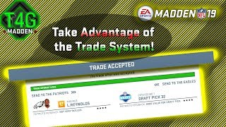 ☑️Cheating the Madden 19 Trade System | Understand the Trade System | Our Madden 19 Trade Logic