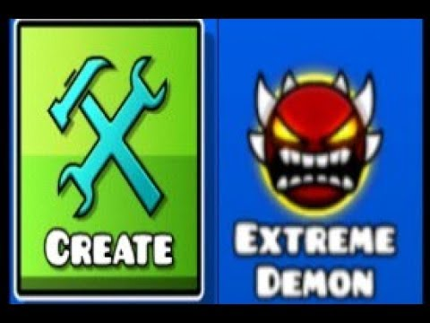 (JOKE) HOW TO MAKE AN EXTREME DEMON IN GEOMETRY DASH (speed Build)